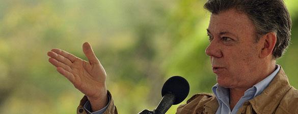 Juan Manuel Santos descubre a un espabilado que lo espió